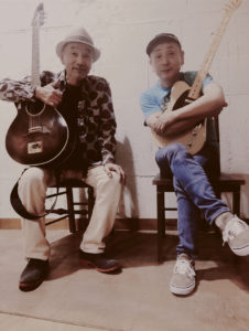 Wメリケン波止場 Kaja and Robee Sanpei acoustic live Night On The Port
