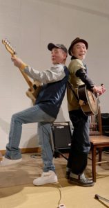 Wメリケン波止場 Kaja and Robee Sampei acoustic live Night On The Port